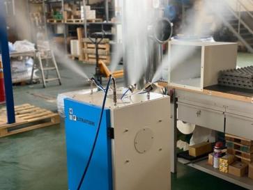 Découvrez DRY FOG Micro-Nébulizer